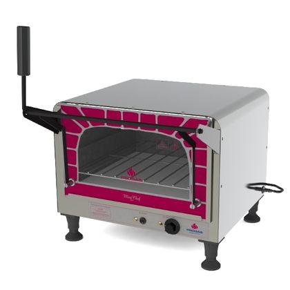 Forno Industrial Com Gratinador Mini Chef Eletrico Prpe-400 Style 127V - Progas