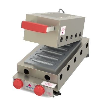 Maquina De Crepe Suico Gas Prk-60g Style - Progas