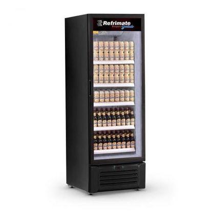 Cervejeira 505 Litros Vcc505v Promo Porta Vidro Preta 220V - Refrimate