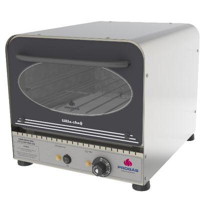 Forno Industrial De Lastro Eletrico Com Gratinador Inox Prpe-200i 127V - Progas