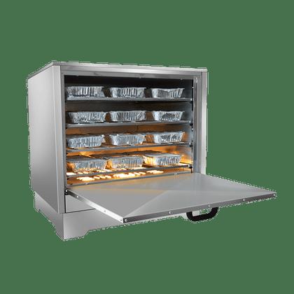 Estufa Marmiteira Seca 36 Unidades Em36l Inox 127V - Metalmaq