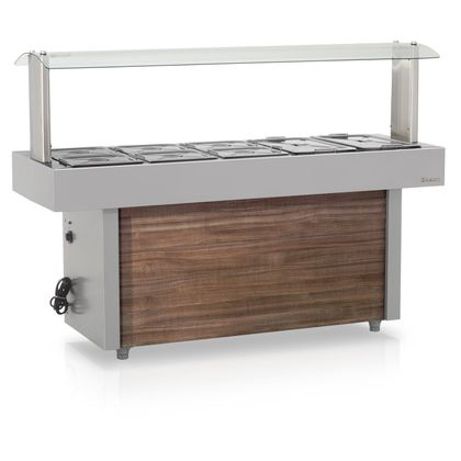 Carro Buffet Self Service Gmta-190 220V - Gelopar