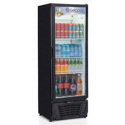 Refrigerador Expositor Vertical Turmalina Gptu-570pr 570 Litros Preto 220V - Gelopar