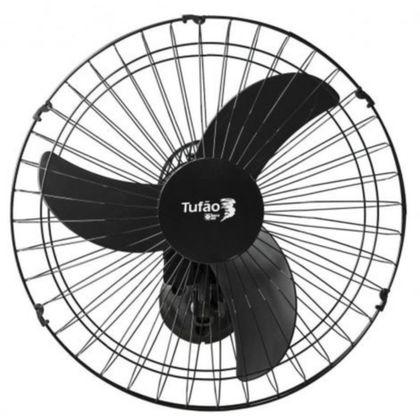Ventilador De Parede 60Cm Tufao Preto M2 Bivolt - Loren Sid
