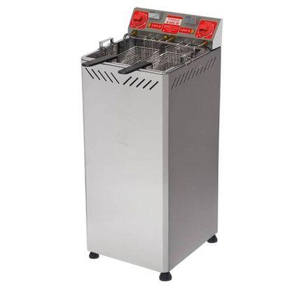 Fritadeira Eletrica Gabinete Agua E Oleo 25 Litros Ft-2.252g 220V - Marchesoni