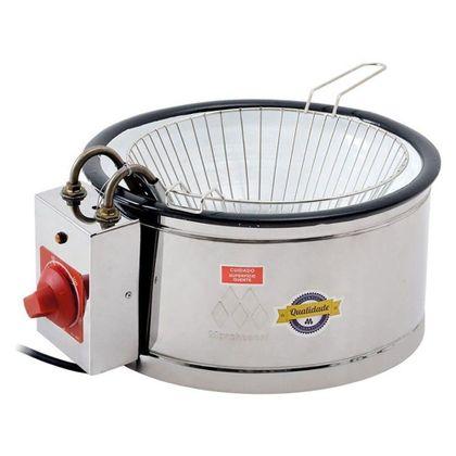 Tacho Fritador Eletrico Inox Com Tacho Esmaltado Th-1301 3,5 Litros 110V - Marchesoni