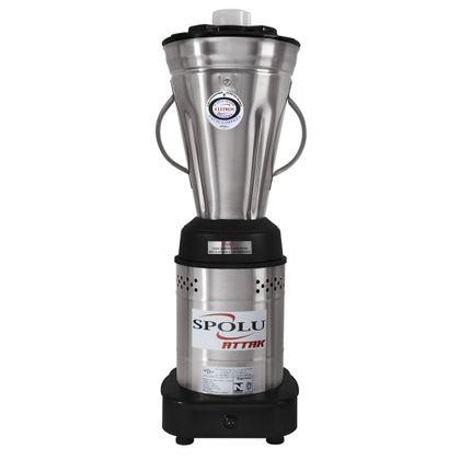 Liquidificador Baixa Rotaçao Inox 4 Litros Spl-049ac Attak 127V - Spolu