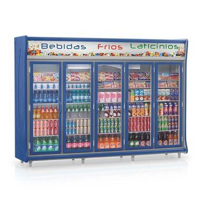 Balcão Refrigerado Gevp-5paz Expositor Vertical 5 Portas 220V - Gelopar