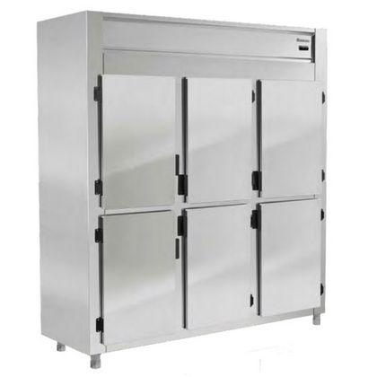 Refrigerador Grep-6p Ar Forcado 220V 6 Portas - Gelopar