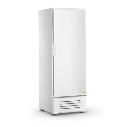 Freezer Vertical Dupla Acao Vccg600s Porta Cega Branca 600 Litros 127V - Refrimate
