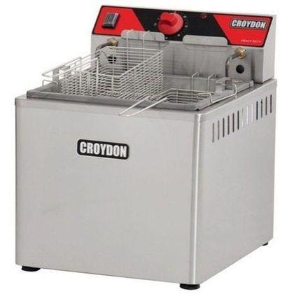 Fritadeira Eletrica Mesa Agua E Oleo Fam5 15 Litros 220V - Croydon