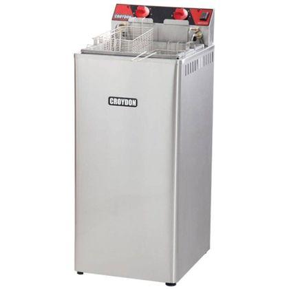 Fritadeira Eletrica Com Gabinete Agua E Oleo Fa28 8.000W 21 Litros 220V - Croydon