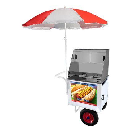 Carrinho De Hot Dog Standard Dsp-006z - Armon