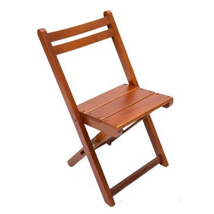 Cadeira De Madeira Dobravel Mel Encosto Anatomico - So Mesas So Cadeiras
