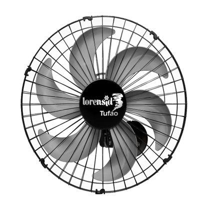 Ventilador De Parede 50Cm Tufao Preto M2 Bivolt - Loren Sid