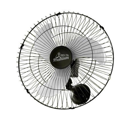 Ventilador Parede 60Cm Preto Premium Bivolt 736425 - Ventidelta