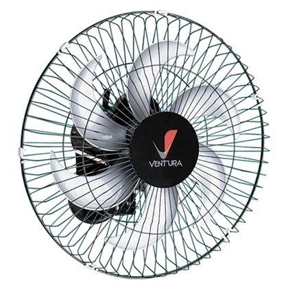 Ventilador Parede 50Cm Preto Ventura Bivolt 5425 - Ventidelta