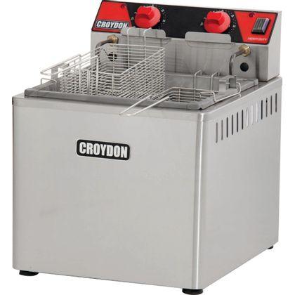 Fritadeira Eletrica Mesa Zona Fria Fzm8 15 Litros 8000W 220V - Croydon