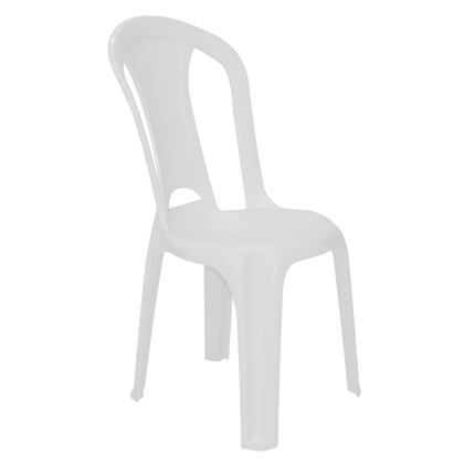 Cadeira Plastica Torres Branca Sem Braco - Tramontina