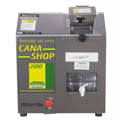 Moenda Cana Shop 200 2Cv Rolo Inox 127V 050450035 - Maqtron