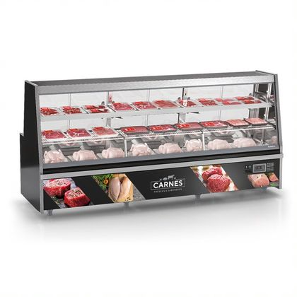 Balcao Refrigerado Avicola Turino Grta-300 Pr S/ Deposito 220V- Gelopar