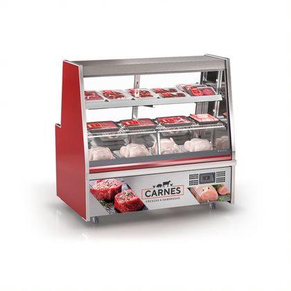 Balcao Refrigerado Avicola Turino Grta-150 Vm S/ Deposito 127V- Gelopar