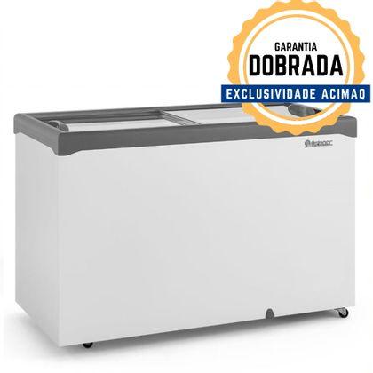 Freezer Horizontal Ghde-410h 2 Tampas De Vidro 410 Litros 220V - Gelopar