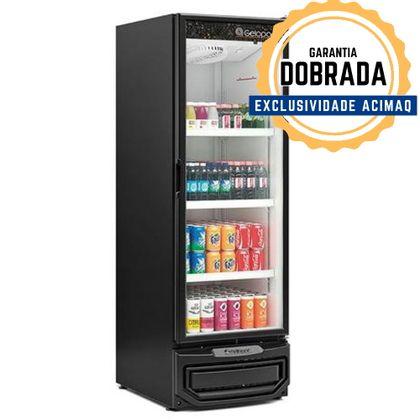 Refrigerador Vertical Grv-57p Pr Porta De Vidro 578L 220V - Gelopar