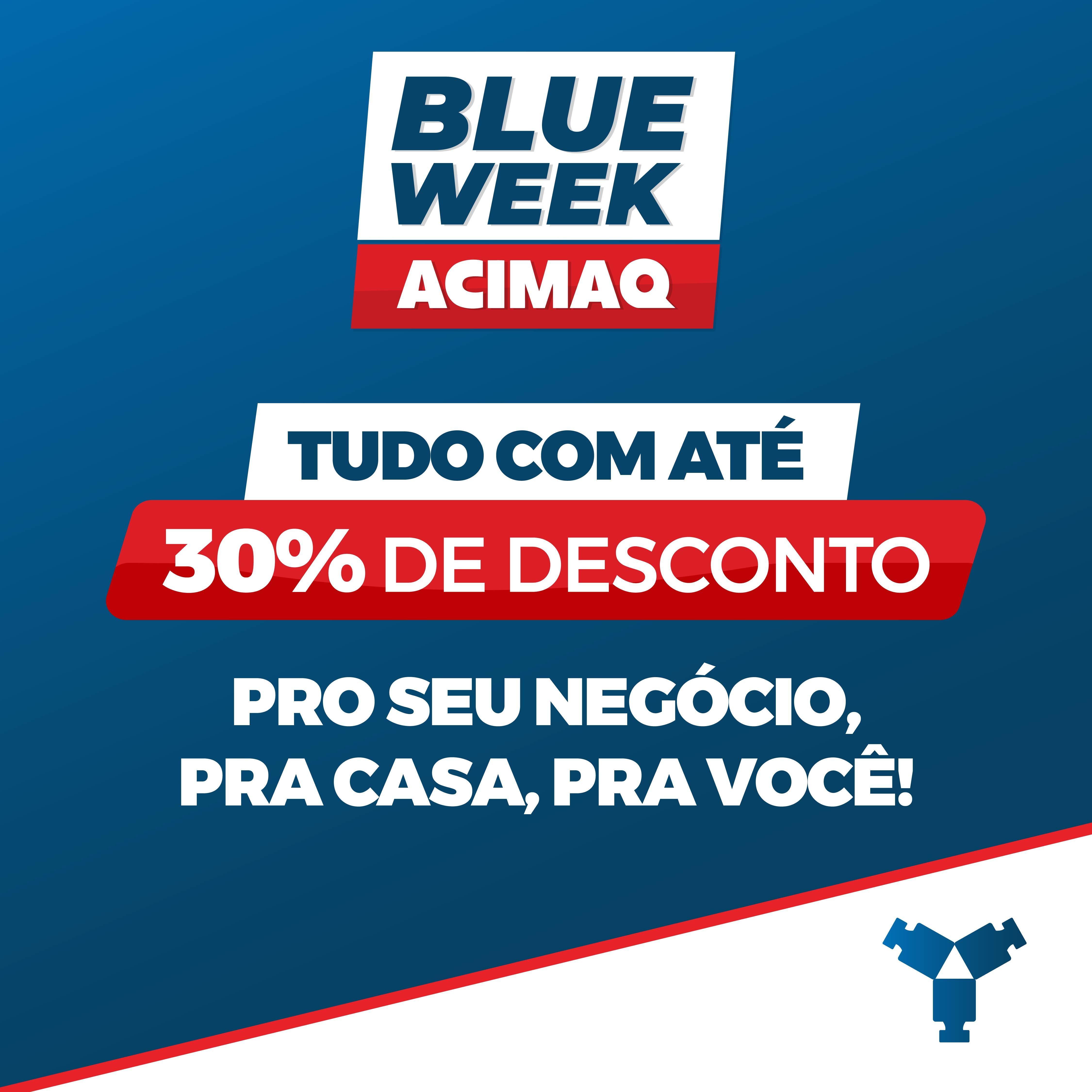 blue week - capa